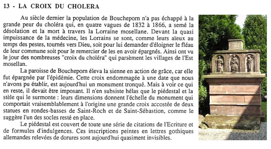 Croix du Choléra