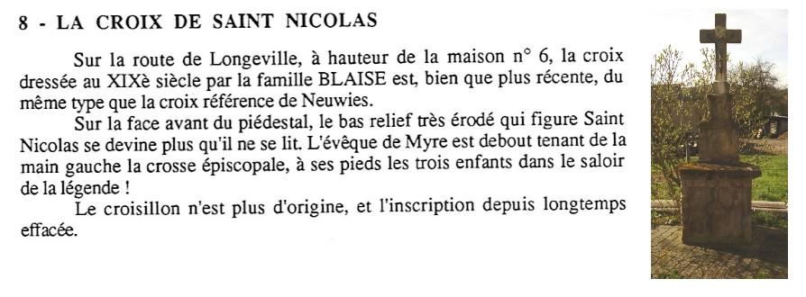 croix St Nicolas